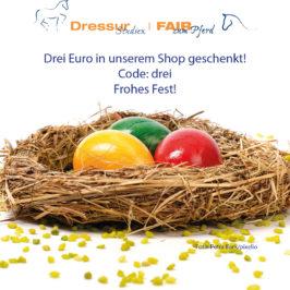 Frohes Fest: Drei Euro Gutschein für Sie!