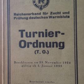 """Eine """"leichte"""" Dressuraufgabe aus dem Jahr 1925"""
